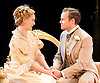 An Ideal Husband by Oscar Wilde<br /> at Festival Theatre Chichester, Great Britain <br /> 25th November 2014 <br /> <br /> directed by Rachel Kavanaugh <br /> <br /> <br /> Jemma Redgrave as Mrs Cheveley <br /> <br /> <br /> <br /> Jamie Glover as Lord Goring <br /> <br /> <br /> <br /> <br /> <br /> <br /> Photograph by Elliott Franks <br /> Image licensed to Elliott Franks Photography Services