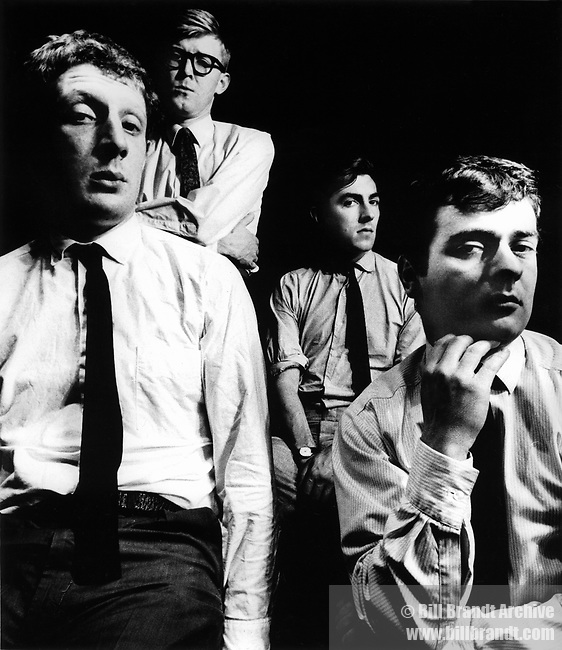 Jonathan Miller, Alan Bennett, Peter Cook and Dudley Moore | 'Beyond the Fringe' was a 1960s British comedy stage revue written by all four men.