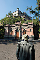 Chapultepec Castle in Chapultepec Park ;mexico City, Mexico