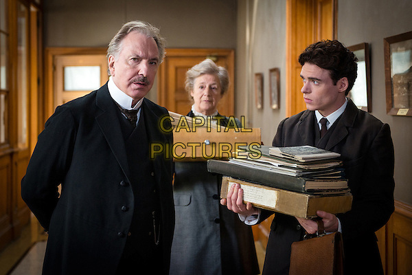 Alan Rickman, Richard Madden  <br /> in A Promise (2013) <br /> *Filmstill - Editorial Use Only*<br /> CAP/FB<br /> Image supplied by Capital Pictures