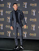 LOS ANGELES, CA. March 30, 2019: Roshon Fegan at the 50th NAACP Image Awards.<br /> Picture: Paul Smith/Featureflash