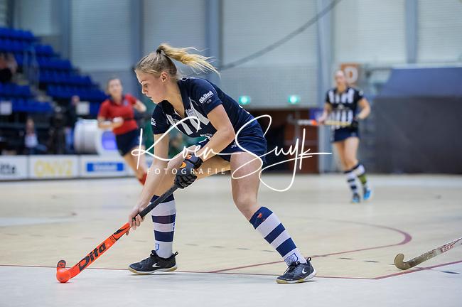 ROTTERDAM  - NK Zaalhockey . finale dames hoofdklasse: hdm-Laren 2-1. hdm landskampioen. Mascha Sterk (HDM)   COPYRIGHT KOEN SUYK