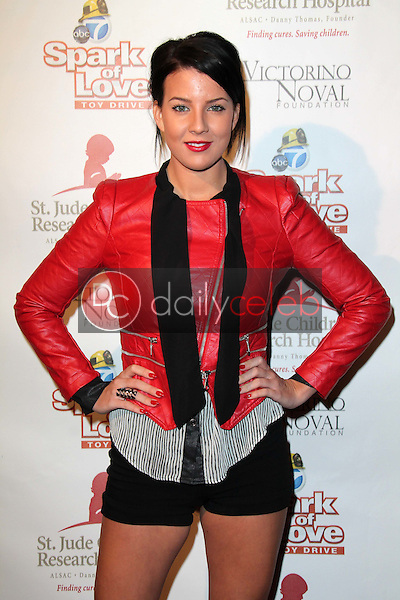 Baylee Curran<br /> at Spark of Love, Private Location, Beverly Hills, CA 12-15-12<br /> David Edwards/DailyCeleb.com 818-249-4998