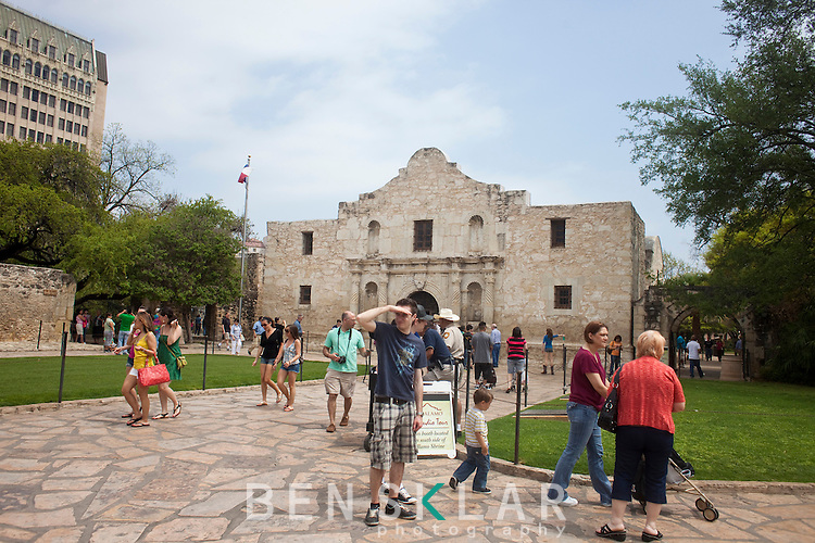 The Alamo is in San Antonio, over an hour from Austin and totally over rated. Don't waste your time...Ben Sklar for VICE Magazine