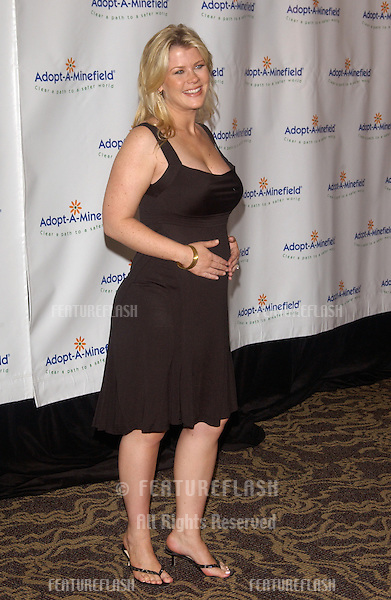 Actress ALISON SWEENEY at the 4th Annual Adopt-A-Minefield Gala at the Century Plaza Hotel, Beverly Hills, California..October 15, 2004