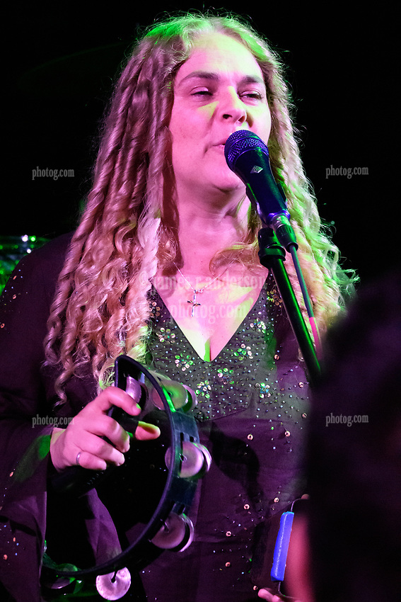Jen Durkin with Steal Your Funk Featuring Doug Wimbish and Tim Palmieri at The Stone Church Brattleboro VT on 7 April 2018