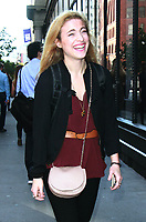 NEW YORK, NY - NOVEMBER 3: Christy Altomare seen on the way to AOL's Build Series in New York City on November 3, 2017. Credit: RW/MediaPunch