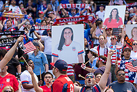 Harrison, NJ - May 26, 2019:  The women's national team of the United States (USA) defeated Mexico (MEX) 3-0 during an international friendly match at Red Bull Arena.