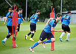Ryan Hardie at training