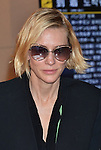 Cate Blanchett, April 21, 2016, Tokyo, Japan : Actress Cate Blanchett arrives at Tokyo International Airport in Tokyo, Japan, on April 21, 2016. Blanchett is among the international celebrities who will be attending a Louis Vuitton exhibition opening event on April 21.