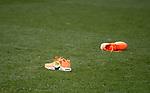 03.03.2019 Aberdeen v Rangers: Orange trainers at full time