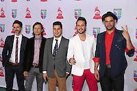 LAS VEGAS, NV - NOVEMBER 15 :  Los Claxons pictured at the 2012 Latin Grammys at Mandalay Bay Resort on November 15, 2012 in Las Vegas, Nevada.  Credit: Kabik/Starlitepics/MediaPunch Inc. /NortePhoto