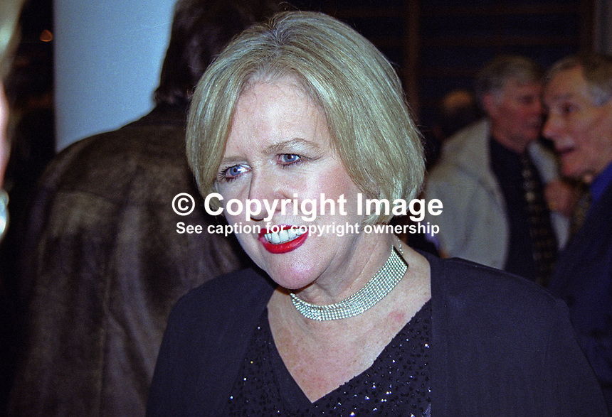 Eileen Reid, Dublin, Rep of Ireland, showband singer, most famously with the Cadets. As well as appearing in pantomine she was a songwriter. 2000125003.<br />