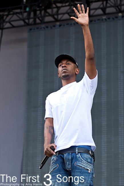 Kendrick Lamar performs during the 2013 Budweiser Made in America Festival in Philadelphia, Pennsylvania.