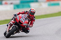 2nd November 2019; Sepang Circuit, Sepang Malaysia; MotoGP Malaysia, Qualifying Day;  The number 4 Ducati Corse Team rider Andrea Dovizioso during qualifying - Editorial Use