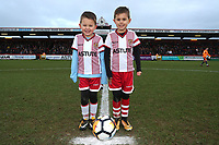 Mascots during Stevenage vs Reading, Emirates FA Cup Football at the Lamex Stadium on 6th January 2018