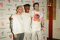 LONDON, ENGLAND - AUGUST 8: Rvbberduck, KSI and Callux attending 'KSI: Can't Lose' World Premiere at Picturehouse Central on August 8, 2018 in London, England.<br /> CAP/MAR<br /> &copy;MAR/Capital Pictures