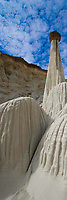 Towers of Silence,  Grand Staircase/Escalante National Monument, Hoodoo formations in Southern Utah, proposed wilderness