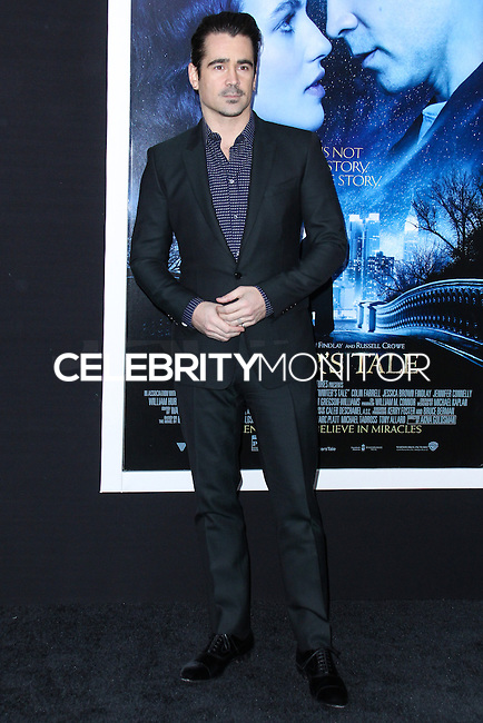 """NEW YORK, NY - FEBRUARY 11: Colin Farrell at the World Premiere Of Warner Bros. Pictures' """"Winter's Tale"""" held at Ziegfeld Theatre on February 11, 2014 in New York City. (Photo by Jeffery Duran/Celebrity Monitor)"""