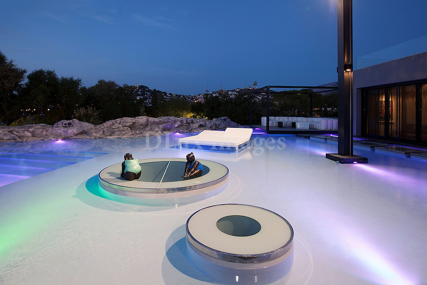 luxury swimming pool