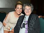 Trina and Rose Lawler pictured at the Combines for Charity party in City North hotel. Photo:Colin Bell/pressphotos.ie