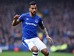 Theo Walcott of Everton during the premier league match at Goodison Park Stadium, Liverpool. Picture date 7th April 2018. Picture credit should read: Robin Parker/Sportimage