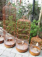 Bird cages, Hong Kong
