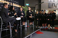 23.05.2019 during the Silver Ferns squad announcement ahead of the Netball World Cup 2019 at the ILT Stadium in Invercargill. Mandatory Photo Credit Copyright photo: Dianne Manson/Michael Bradley Photography