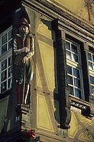 Europe/France/Alsace/68/Haut-Rhin/Colmar : Maison Adolph XIV° siècle