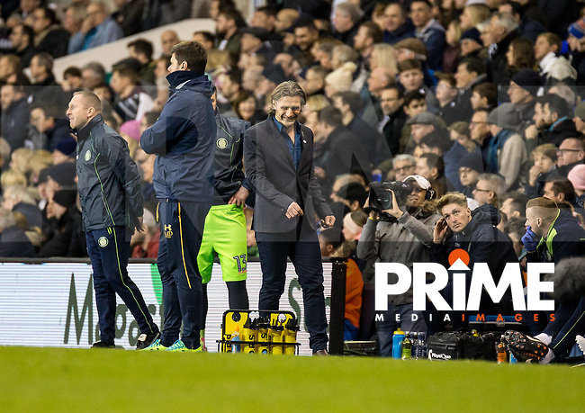 Wycombe Wanderers Manager Gareth Ainsworth after the Dele Alli of Tottenham Hotspur equaliser during the FA Cup 4th round match between Tottenham Hotspur and Wycombe Wanderers at White Hart Lane, London, England on the 28th January 2017. Photo by Liam McAvoy.
