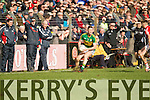 Jonathan Lyne Kerry in action against  Cork in the National Football League at Pairc Ui Rinn, Cork on Sunday.