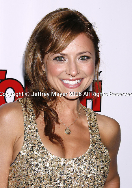 Actress Christine Lakin arrives at the In Touch Weekly and Ish Entertainment To Host Summer Stars Party 2008 on May 22, 2008 at Social Hollywood in Hollywood, California.