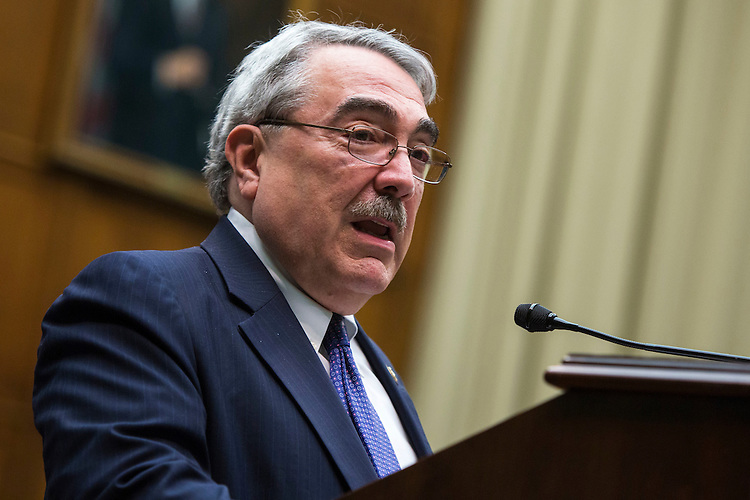 UNITED STATES - MAY 24 - Rep. G. K. Butterfield, D-N.C., speaks at a Congressional Pediatric Trauma Briefing, in the Rayburn House Office Building in Washington, Tuesday, May 24, 2016. (Photo By Al Drago/CQ Roll Call)