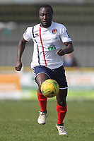 Tofi Gyebi of Witham during Witham Town vs AFC Hornchurch, Bostik League Division 1 North Football at Spa Road on 14th April 2018