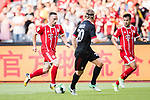 Bayern Munich Midfielder Franck Ribery (L) in action against AC Milan Defender Ignazio Abate (R) during the 2017 International Champions Cup China  match between FC Bayern and AC Milan at Universiade Sports Centre Stadium on July 22, 2017 in Shenzhen, China. Photo by Marcio Rodrigo Machado / Power Sport Images
