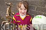 Kylie Walsh, pictured here in Duagh National School who came joint 1st in the Kerry Skills Competition held last Thursday in Austin Stacks.