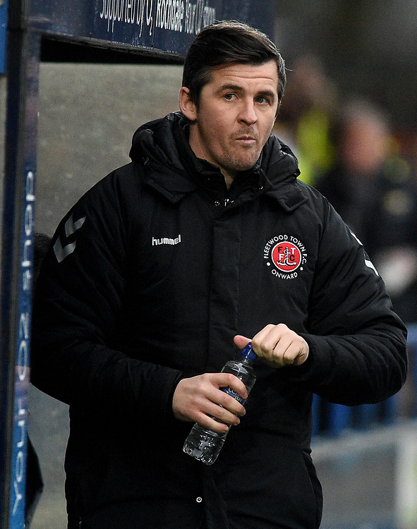 Fleetwood Town manager Joey Barton <br /> <br /> Photographer Hannah Fountain/CameraSport<br /> <br /> The EFL Sky Bet League One - Rochdale v Fleetwood Town - Saturday 19 January 2019 - Spotland Stadium - Rochdale<br /> <br /> World Copyright © 2019 CameraSport. All rights reserved. 43 Linden Ave. Countesthorpe. Leicester. England. LE8 5PG - Tel: +44 (0) 116 277 4147 - admin@camerasport.com - www.camerasport.com