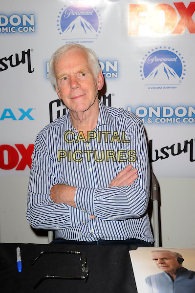 LONDON, ENGLAND - JULY 12: Jeremy Bulloch attending London Film and Comic Con 2014 at Earls Court on July 12, 2014 in London, England.<br /> CAP/MAR<br /> &copy; Martin Harris/Capital Pictures