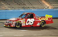 Nov. 13, 2009; Avondale, AZ, USA; NASCAR Camping World Truck Series driver Jamie Dick during the Lucas Oil 150 at Phoenix International Raceway. Mandatory Credit: Mark J. Rebilas-