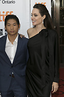 www.acepixs.com<br /> <br /> September 11 2017, Toronto<br /> <br /> Angelina Jolie and Pax Thien Jolie-Pitt arriving at the premiere of 'First They Killed My Father' during the 42nd Toronto International Film Festival at the Princess of Wales Theatre on September 11 2017 in Toronto, Canada<br /> <br /> <br /> By Line: Famous/ACE Pictures<br /> <br /> <br /> ACE Pictures Inc<br /> Tel: 6467670430<br /> Email: info@acepixs.com<br /> www.acepixs.com