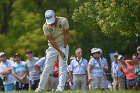 Satoshi Kodaira (JPN) is unhappy with his tee shot on 12 during 4th round of the 100th PGA Championship at Bellerive Country Club, St. Louis, Missouri. 8/12/2018.<br /> Picture: Golffile   Ken Murray<br /> <br /> All photo usage must carry mandatory copyright credit (© Golffile   Ken Murray)