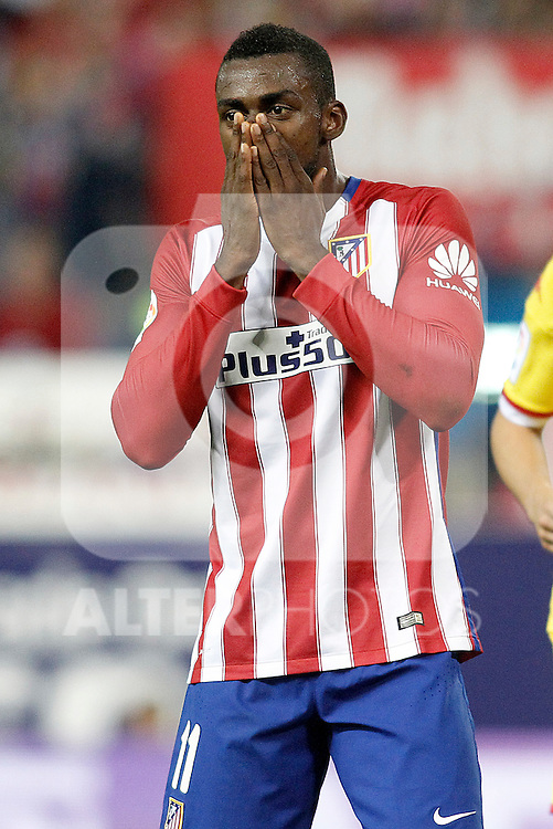 Atletico de Madrid's Jackson Martinez during La Liga match. November 8,2015. (ALTERPHOTOS/Acero)