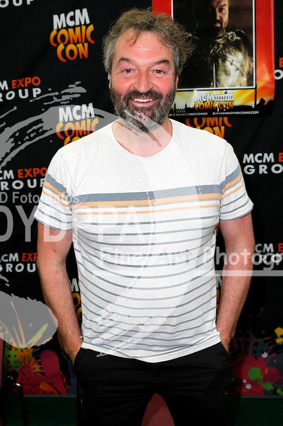 Ian Beattie auf der MCM Hannover Comic Con in der Messehalle 2. Hannover, 04.06.2016