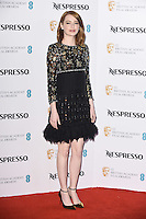 Emma Stone at the 2017 BAFTA Film Awards Nominees party held at Kensington Palace, London, UK. <br /> 11 February  2017<br /> Picture: Steve Vas/Featureflash/SilverHub 0208 004 5359 sales@silverhubmedia.com