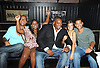 One Life to Live group shot, Max Tapper, Shenell Edmonds, Sean Ringgold, Kelley Missal and Barret Helms attending the Shenell Edmonds Fan Club Dance Party on .August 14, 2011 at HB Burger's Sunken Bar in New York City. Shenell plays Destiny Evans on One Life to Live.