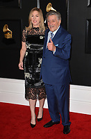 LOS ANGELES, CA - FEBRUARY 10: Tony Bennett at the 61st Annual Grammy Awards at the Staples Center in Los Angeles, California on February 10, 2019. Credit: Faye Sadou/MediaPunch