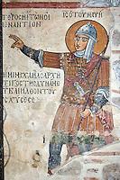 Jesus of Navi,wall-painting,Outer Narthex,Panagia Church,10th century,Osios Loukas Monastery,Greece