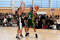 Basketball NZ U13 Central Regional Championships at Walter Nash Centre, Lower Hutt, New Zealand on Thursday 11 October 2018. <br /> Photo by Masanori Udagawa. <br /> www.photowellington.photoshelter.com