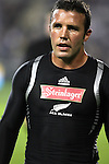 All Black Aaron Mauger before the first international rugby test at Eden Park, Auckland, New Zealand, Saturday, June 02, 2007. The All Blacks beat France 42-11.