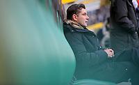 FUSSBALL   1. BUNDESLIGA   SAISON 2011/2012    15. SPIELTAG Borussia Moenchengladbach - Borussia Dortmund        03.12.2011 Sportdirektor Michael Zorc (Borussia Dortmund)